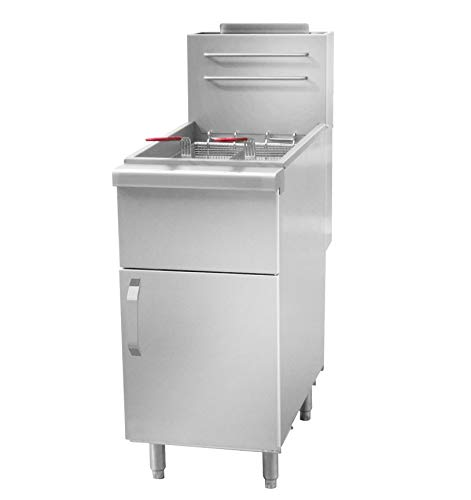 Gas Fritteuse 16 Liter / 27 kW