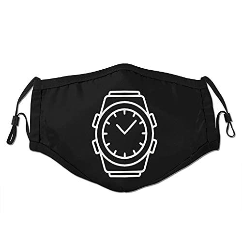 Armbanduhr Gesicht M-A-S-K Tasche waschbar Face Bandanas Sturmhaube Wiederverwendbarer Stoff M-A-S-Ks Einstellbar mit Filter
