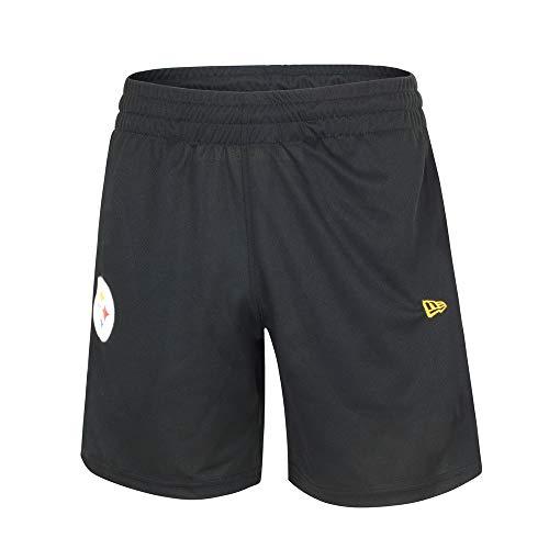 A NEW ERA NFL Jersey Shorts Pitste Blk Herren L schwarz
