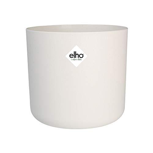 Elho B.for Soft Round Maceta Redonda, White, 25 cm