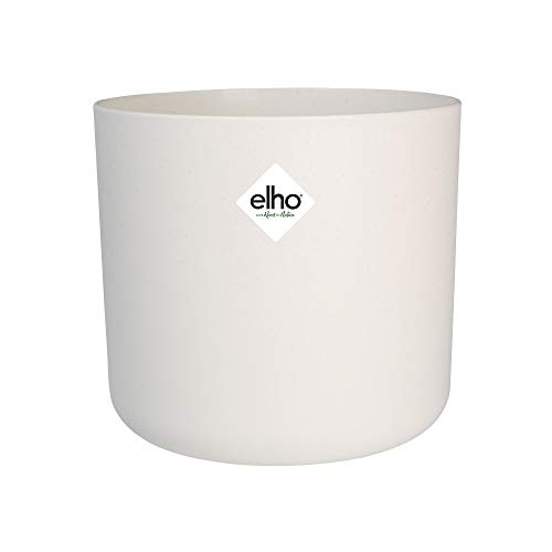 Elho B. For Soft - Maceta redonda, blanco claro, 18 cm