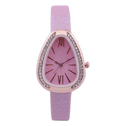 Sanwood Women Quartz Wristwatches, Rhinestone Roman Number Quartz Water...