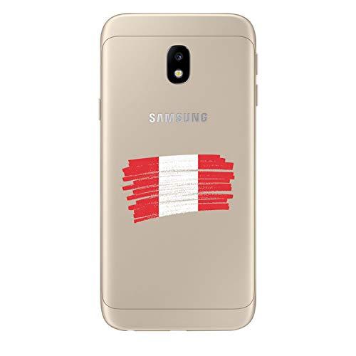 Zokko - Carcasa para Samsung Galaxy J3 2017, diseño de perú