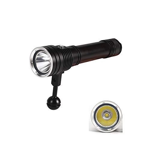 ACHICOO Helle XHP50 Tauchtaschenlampe 50M Tauchtiefe 2500LM D150 LED 4000 Unterwasserlampe