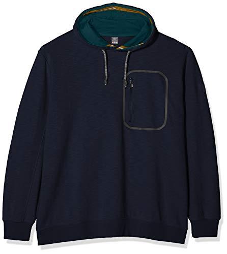 s.Oliver Big Size Herren 15.908.41.4980 Sweatshirt, Blau (Fresh Ink 5952), XXX-Large (Herstellergröße: 3XL)