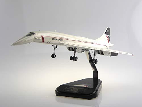 Bravo Delta Concorde Landor Drop Nose Gear Down Modell Flugzeug