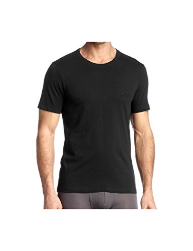 BOSS T-Shirt RN 3p Co Camiseta, Negro (Black), XX-Large (Pack de 3) para Hombre