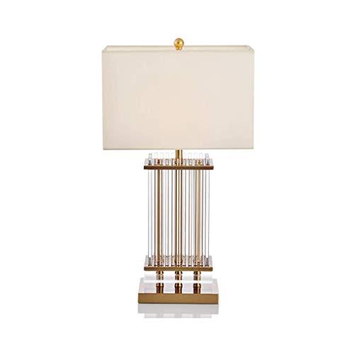 XYZMDJ Lampe de Table Moderne Salon Chambre Bureau Chevet Table de Chevet Lampe de Table Famille