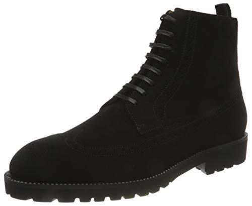 BOSS Herren Edenlug_Halb_sdwbg Half Boot, Black1, 42 EU