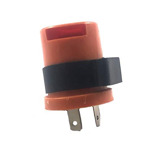 Knipperrelais/knipperlicht relay 12 volt 2-polig universeel * met akoestisch signaal * piep* bijvoorbeeld voor Rex QingQI Yiying Kymco BAOTIAN FLEX TECH HYOSUNG CHINA ROLLER QUAD GY6