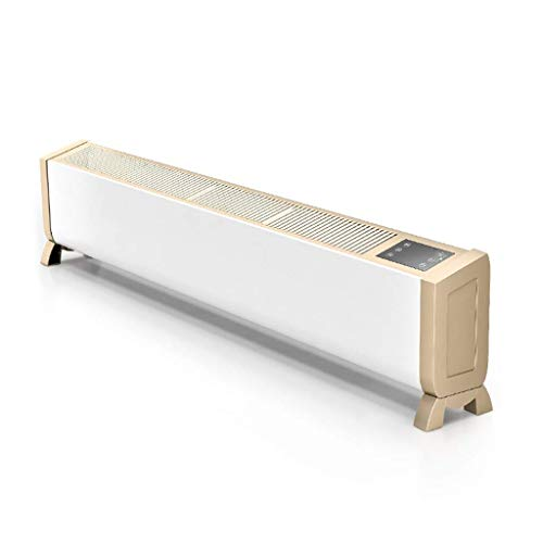 LHQ-HQ Calentador de zócalo Convector Temporizador Digital Calentador termostato for el hogar/Conservatorio Slimline Placa Base radiador Remoto Calentadores de Control for Toda la casa de calefacció