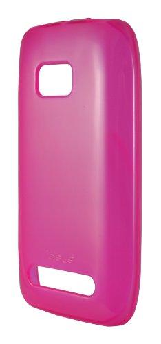 Ideus CO710TPUSKFU - Carcasa de TPU para Nokia Lumia 710, fucsia ahumado