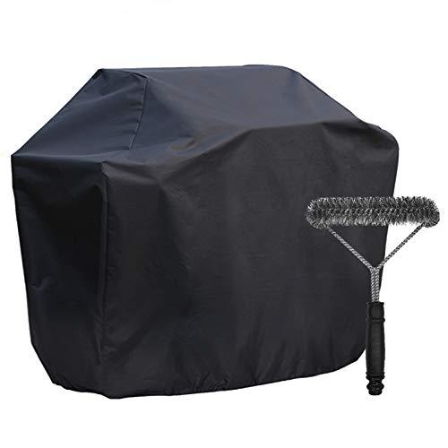 UKEER Grillabdeckung, Grill Abdeckhaube Gasgrill mit Grillbürste Outdoor Wasserdicht Abdeckung BBQ Cover für Gasgrills mit Bis 170 x 61 x 117CM