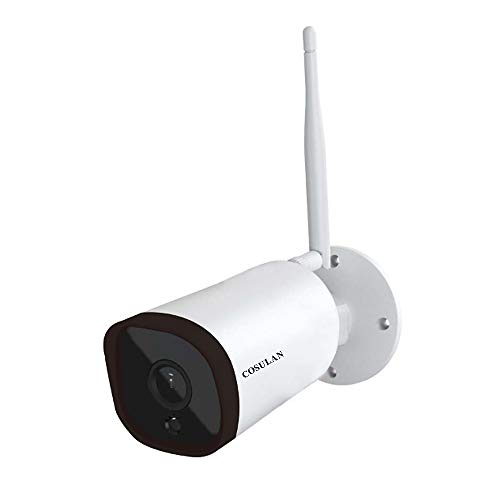 ip camera with ir nights WiFi Security Camera Outdoor - HD1080P Wireless Home Surveillance IP Camera - Waterproof Bullet Camera with IR night vision/Motion Detection/Two Way Audio/Alarm Events/iOS&Android and Windows Software