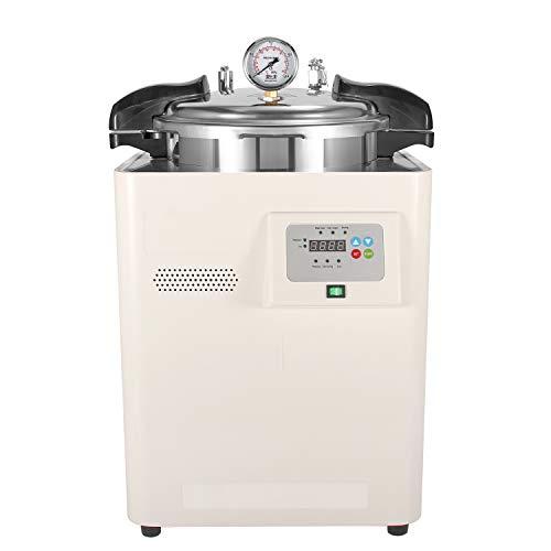 Hanchen 18L Hohe Druck Sterilisator 50-126℃ 0-999min Autoklaven Dampf Sterilisator Elektrische Dampfsterilisator für Labor Hause Lebensmittel Fabrik 220V