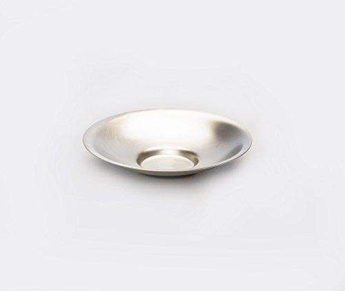 Azmaya Tea Cup Saucer - Brass & Tin-plate