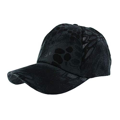 SALICEHB Nuevos Hombres Gorra táctica Camo Gorras de béisbol Deportes al Aire Libre Sombrero de Pesca Camuflaje Snapbacks Hueso camuflado Sombreros