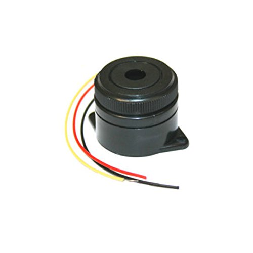 Fadenzahl 12VDC PIEZO Keramik Summer 3–24VDC 90dB kontinuierliche 3.7kHz Sound + Blinken schnell ElectroDH 35.218