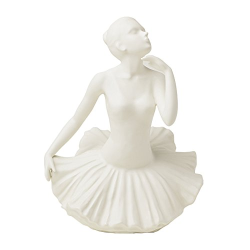 Royal Class Art. 26544 BALLERINA WHITE PORCELLANA MAT 27 cm