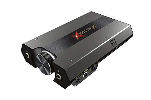 DAC de Jeu Sound BlasterX G6 7.1 HD et Carte Son USB Externe avec Casque Xamp pour PS4, Xbox One, Nintendo Switch et PC
