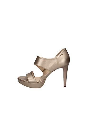 Sandalo da Donna NeroGiardini in Pelle Rosa E012810D. Scarpa dal Design Raffinato. Collezione Primavera Estate 2020. EU 38