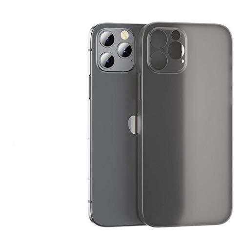 TONGTONG Funda ultra fina mate para iPhone 12 11 Pro Max X Xr Xs Max 7 8 Plus Se 2020 lente cubierta completa a prueba de golpes