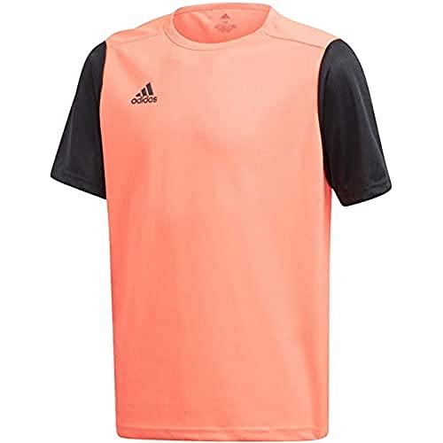 adidas FR7118 ESTRO 19 JSY T-Shirt Mens App Solar Red/Black L