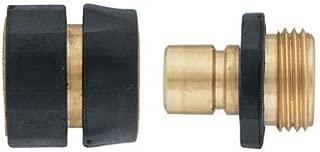 2-Pack Orbit 58117 Brass Hose Quick Connect Set