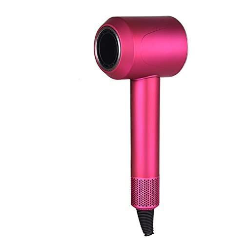 SHIXIMAO Secador de Pelo Profesional Velocidad Secador de Pelo Control Temeperature Control Secador de salón Hot & Cold Elancy Secador de soplado iónico (Color : Black, Plug Type : 012)