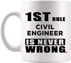 Queen54ferna Lustige Tasse für Ingenieure, Bauingenieure, Bautechnik, Architektur, Geburtstagsgeschenk für Männer und Frauen