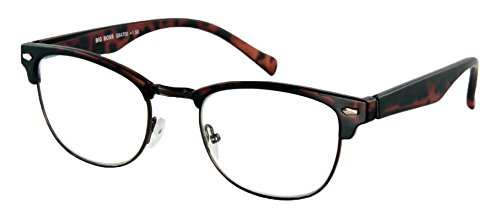 Lesebrille Big Boss-Havanna-Matt-Sph:+2,50