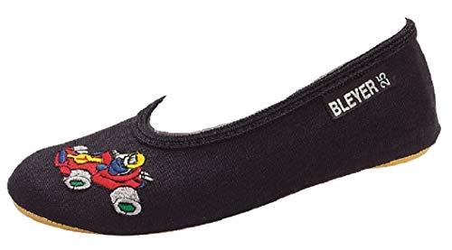 Bleyer Gymnastikschuhe schwarz Auto Monza Grösse 31