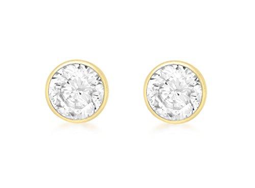 Carissima Gold Pendientes de mujer con oro 9 K (375) y circonita