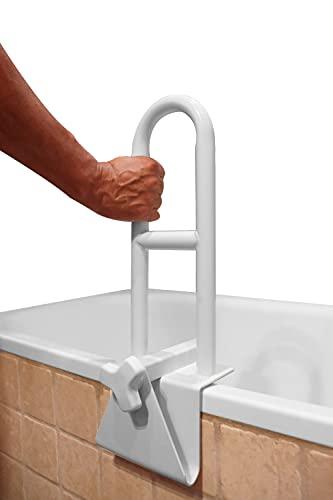 PEPE - Maniglia Accesso Vasca, Maniglia Vasca da Bagno, Maniglione Vasca da Bagno Anziani, Maniglia per Accesso Vasca, Maniglie per Vasca da Bagno, Accesso Vasca da Bagno, Bianco.