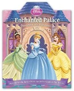 Disney Princess Enchanted Palace Storybook and Play Castle