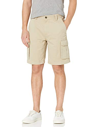 Amazon Essentials Men's Classic-Fit Cargo Short, Khaki, 34