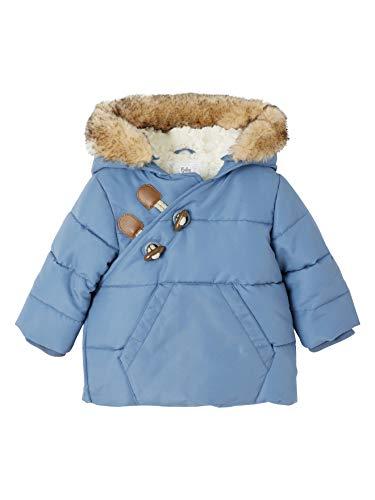 Vertbaudet Baby Winterjacke, gesteppt blau 80