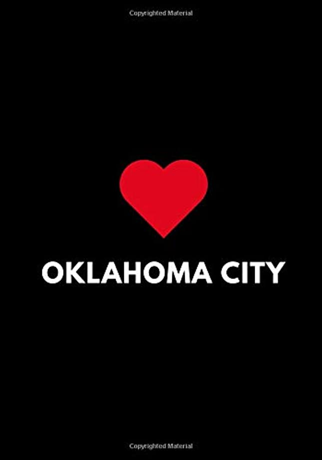 現象メロドラマティックレーニン主義Oklahoma City: Blank Sketchbook to Draw or Doodle, Oklahoma USA Gift Diary 7