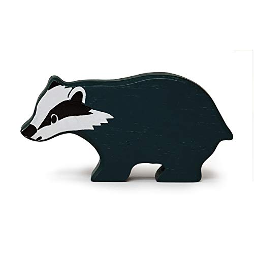 Tender Leaf Toys Badger Animal Toy For Children Made From Solid Wood