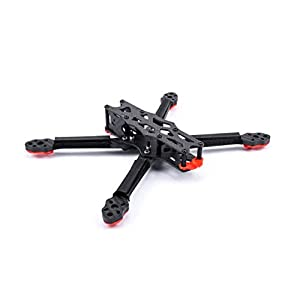 YoungRC 6inch 260mm Carbon Fiber Quadcopter Frame 5.5mm Arm Kit for FPV Freestyle RC Racing Drone