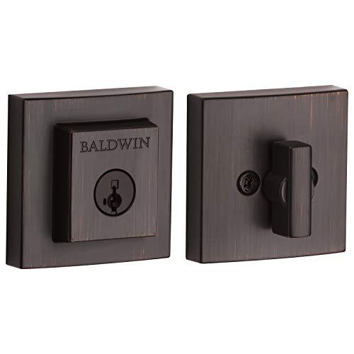 Baldwin - Cerrojo cuadrado de un solo cilindro, Venetian Bronz