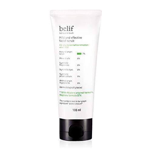 belif マイルドで効果的なフェイシャルスクラブ/Mild and Effective Facial Scrub 100ml [並行輸入品]