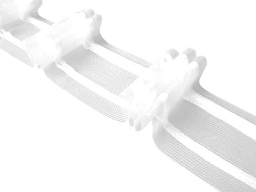 Unbekannt 13 m Faltenband 3er Falte 1:2,0 Teiltransparent 50mm