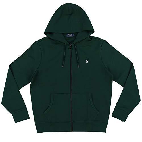 Polo Ralph Lauren Men's Full Zip Active Hoodie (Large, Green)