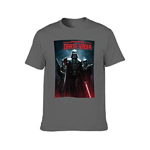 St-ar Wars-Darth V-ader - Camiseta de manga corta para hombre de algodón cómodo