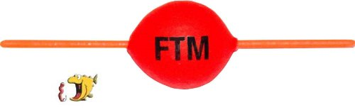 FTM Steckpiloten rot - Pilotpose zum Forellenangeln, Forellenpose, Forellenschwimmer, Pilotkugel für Forellen, Forellenangeln, Durchmesser:18mm