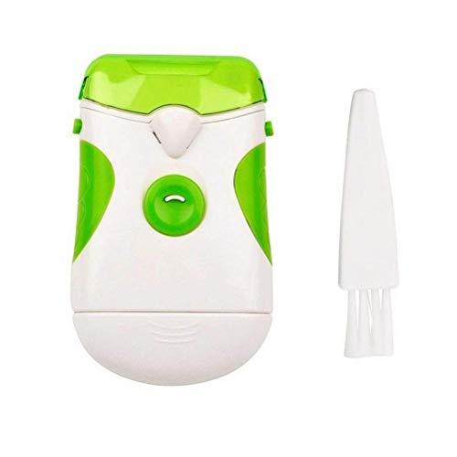 WyTosa Coupe-Ongles électrique, Lime à Ongles électrique 2 en 1, Coupe-Ongles électrique avec lumière LED, Outil de Soin des Ongles Portable pour bébés et Adultes