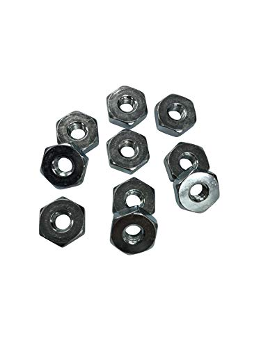 ENGINERUN Chainsaw Bar Nuts for Sprocket Cover (Pack of 10) Compatible with Stihl MS240 MS260 MS280 MS290 MS440 MS660 and More Chainsaws Parts OEM Ref 0000-955-0801