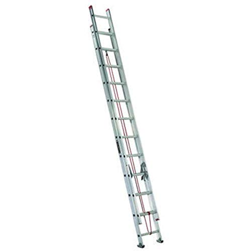 Louisville Ladder D1124-2 Extension-ladders, 24 Feet