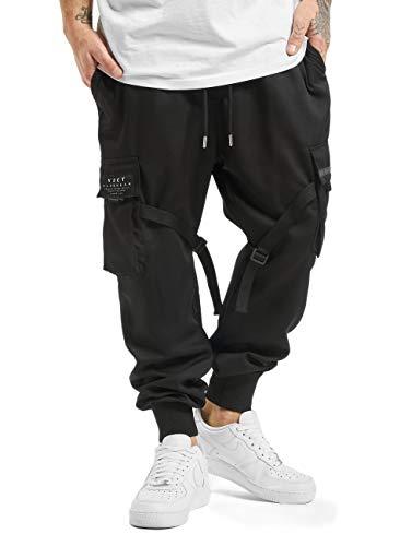 VSCT Clubwear Herren Jogginghosen Combat Antifit Nylon schwarz S